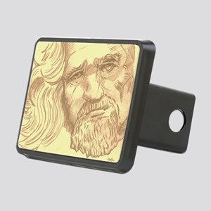 The Dude  Rectangular Hitch Cover